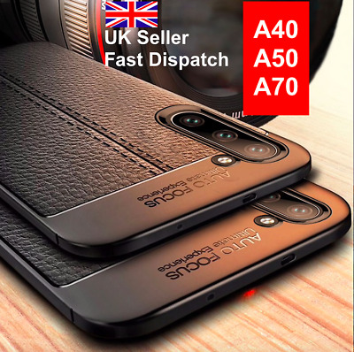 Samsung Galaxy A40 A50 A70  Silicone Protective Armour TPU Phone Case Cover