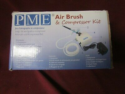 Pme Airblush & Compressor Kit For Cake Craft And Cake Decorating