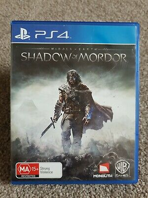 Shadow of Mordor Middle Earth LOTR PS4 Game Sony PlayStation 4 #30 Day Warranty#