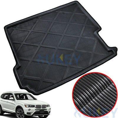 Boot Cargo Liner Rear Trunk Tray Mat Floor Carpet For BMW X3 F25 MK2 2011-2017