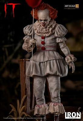 Iron Studios IT Pennywise Deluxe Art Scale 1/10 Statue Limited Edition