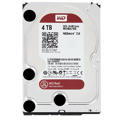 WD Red 4TB NAS 64MB 3.5' 5400RPM SATA3 6Gb/s 64MB Cache [LQ9Q] LD2-WD40EFRX