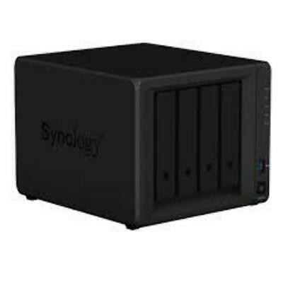 "Synology DS418 ,DiskStation 4-Bay 3.5"" Diskless 2xGbE NAS (HMB), Realtek RTD1296"