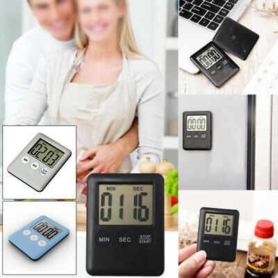 Fashion Digital Kitchen Cooking Timer Count Down Up Clock Loud Alarm Magnetic