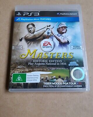Masters Historic Edition Tiger Woods PGA Tour 14 (Sony PlayStation 3) PS3 Game