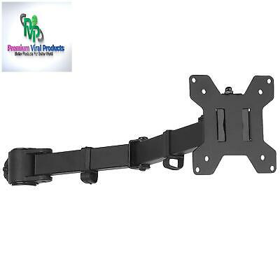 Wali Single Fully Adjustable Arm For Wali Monitor Mounting System (001Arm), Blac