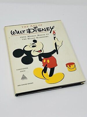 The Art of Walt Disney New Concise Edition 1975