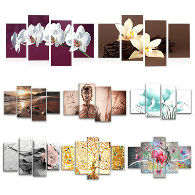 UK Unframed Modern Art Canvas Oil Painting Picture Print Bedroom House Decorate
