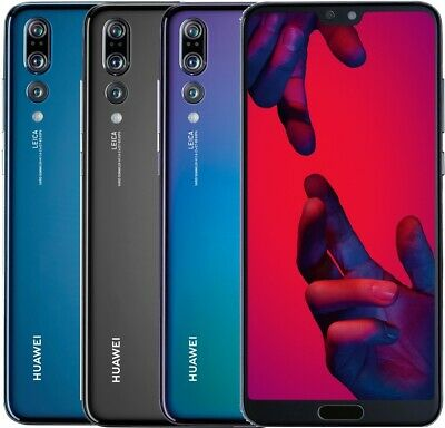 """Huawei P20 Pro DualSim 128GB LTE Android Smartphone 6,1"""" OLED Display 40 MPX"""