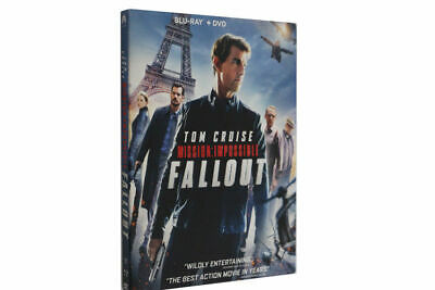 Mission: Impossible - Fallout [Blu-ray] New and sealed 3 disc set with digital