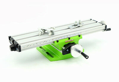 Precision Multifunction Working Table Mini Bench Drill Vise Fixture Worktable