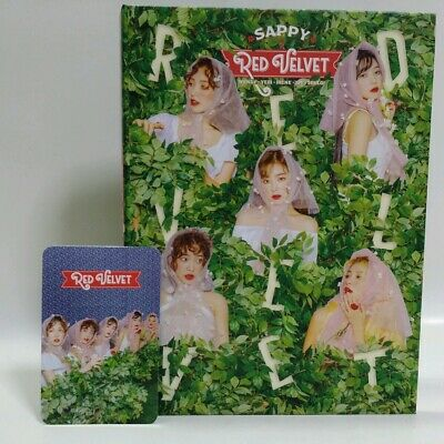 CD Red Velvet The 2nd Mini Album SAPPY Booklet 36P BOX Edition with Photocard