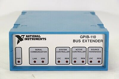 National Instruments Gpib-110 Bus Extender / Optical Fiber, 18029A-01 Rev C4