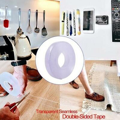 Traceless Washable Adhesive Tape Nano Invisible Gel Pad Grip Strong-Reliable