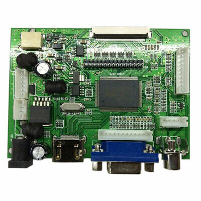 NEW LCD Controller Board HDMI VGA AV for Drive LVDS/TTL Display Screen AU
