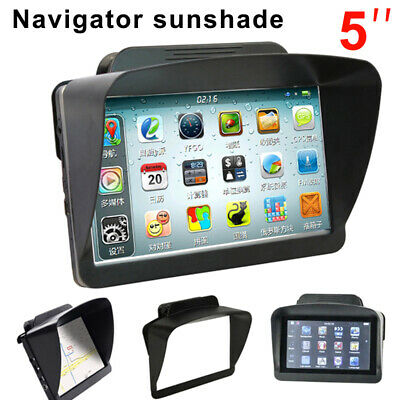 Car GPS Sun Shade Visor Cover for Garmin Nuvi 4.3 & 5 Inch GPS Navigation