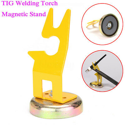 TIG Welding Torch Magnetic Stand Holder Support Holding Gun Collet Tungsten