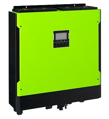 5.5kW Off Grid/Hybrid Solar Inverter 12x Solar Panels and Mounting Structure