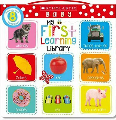 My First Learning Library (Scholastic First Steps) New Board book Book