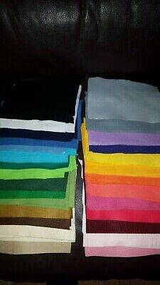 100 Pcs Craft Felt Sheets Bundle,Off cuts Pieces - Toy making, Sewing, Quilting
