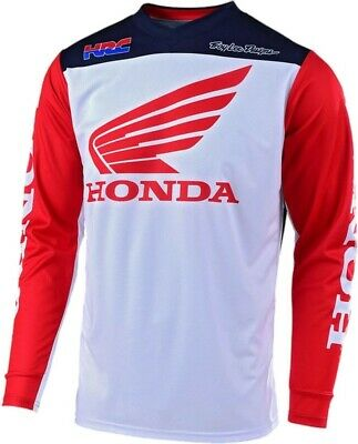2019 Troy Lee Designs HONDA TLD MX GP Motocross Jersey Red White Adults