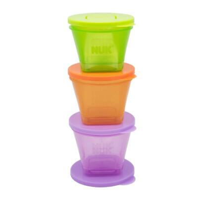 Annabel Karmel by NUK | 6 Baby Food Storage Containers | Stackable | BPA Free