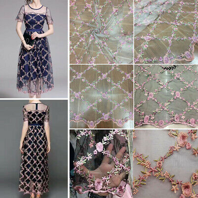 Patch Lace Fabric Wedding Elegant Home decoration Accessories Embroidered