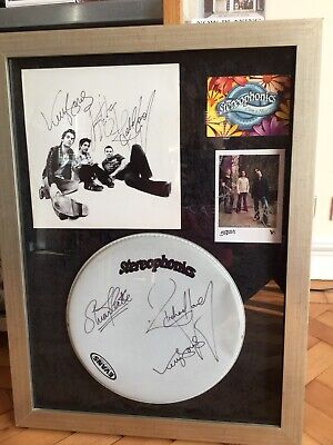 Signed Stereophonics