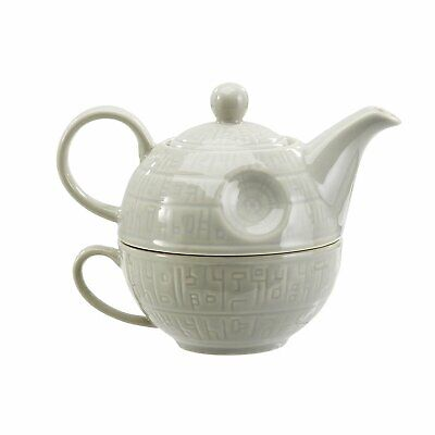 Officially Licensed Star Wars Death Star Teapot and mug Ceramic - New in Box