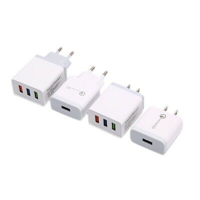 Certified 18W Quick Charge 3.0 High Rapid USB Wall Charger Adapter US PL
