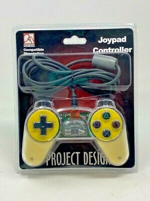 JOYPAD SONY Playstation 1 PS1 PSX Psone Controller oficial SCPH-1080 transparent