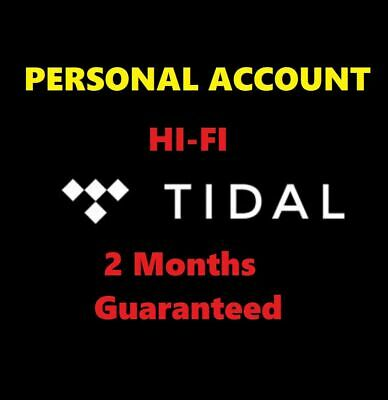 TIDAL Hi-Fi 🔥 2 Months Guaranteed 🔥 - INSTANT DELIVERY ✅