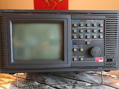 Tektronix VM700 T SDI Video Measurement Set mit Option 1S Rundfunk Studio