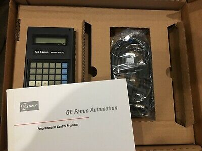 USED GE FANUC Series One Ic610Prg105B Programmer Hand Held
