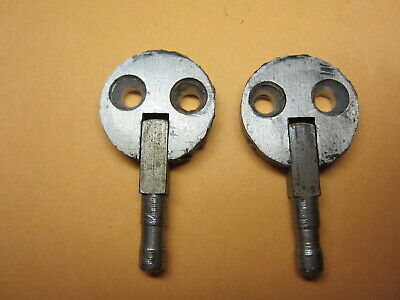 1921 Singer 66 Red Eye Sewing Machine Parts, Pair Aluminum Treadle Hinges