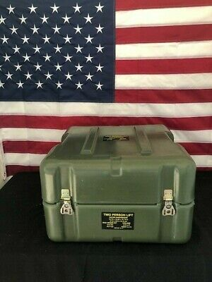 Military Hardigg Pelican storage Hinged case Free shipping!