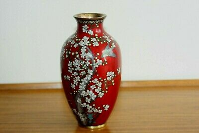 Japanese 19Th Early 20Th Century Cloisonne Vase