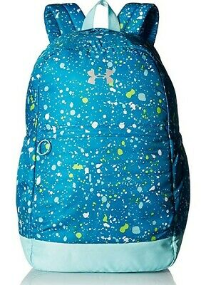 Under Armour Girls' Favorite Backpack, Blue Shift/Metallic Silver, One Size, 008
