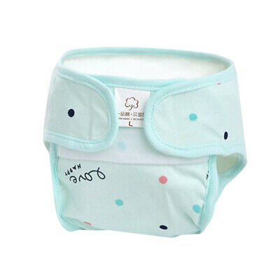 Newborn Baby Diaper Cotton Waterproof Reusable Washable Cloth Diapers Cover G