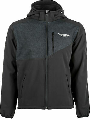 Fly Racing Checkpoint Soft Shell Fleece Jacket - Black, Lg 354-6380L