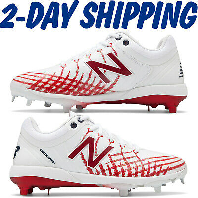 New Balance All Star Hero Baseball Metal Cleats Red/White (Navy) L4040AS5 >2-DAY