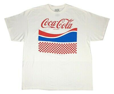 Coke Enjoy Refreshing Coca-Cola Logo Retro Classic Drink Men's T Shirt M-2XL