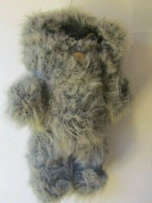 Vintage 1983 Star Wars Kenner Wiley the Ewok Plush Toy Lucas Films(missing nose)
