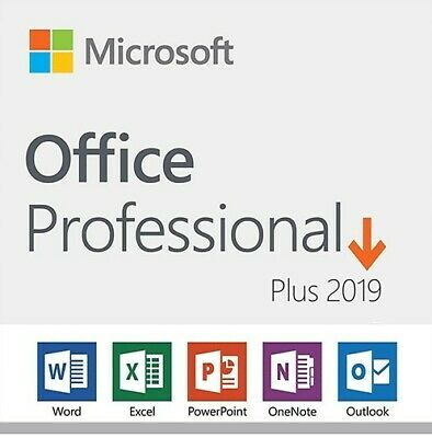 Office 2019 Professional Plus Pro Key 32/64 Bit - Licenza Esd