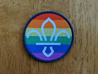 Pride Patch United Kingdom UK - 2019 World Scout Jamboree