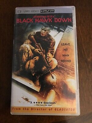 Black Hawk Down Sony PSP Playstation Portable UMD Movie Video Game