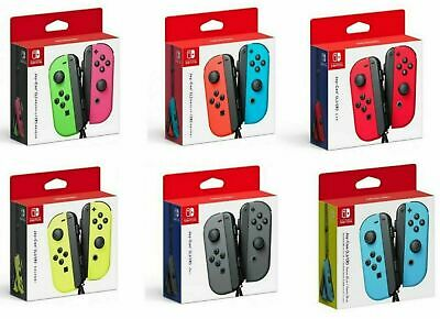 New Official Nintendo Switch JoyCon - Joy-Con L & R Blue Red Pink Green Neon
