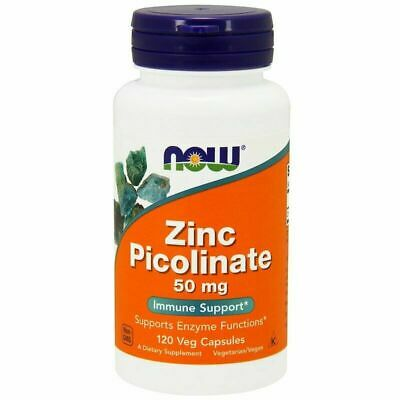 Now Foods Zinc Picolinate, Supports Enzyme Function Immunity, 120 Veg Caps