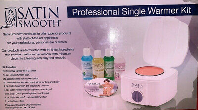 Satin Smooth Professional Single Warmer Kit - Body Waxing Kit New But Oily Box