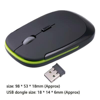 2.4GHz Wireless Cordless Mouse Mice Optical Scroll For PC Laptop Computer  Fast